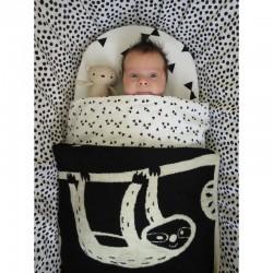 By Bora couverture de bébé Sloth