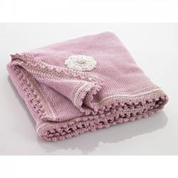 Pebble couverture de bébé Rose