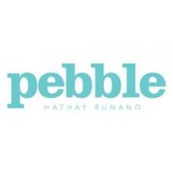 Pebble couverture de bébé Bleu