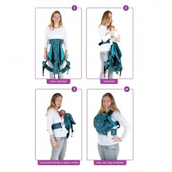 Easy Emeibaby Carrier Grey - Baby