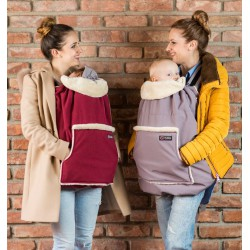 Isara Winter Cover- Berrylicious Burgundy