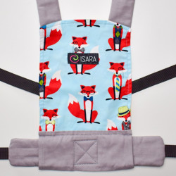 Isara Toy carrier Foxy & Friends - porte poupée