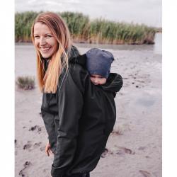 Mamalila Softshell Babywearing Jacket clickit - noir