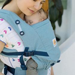 Ergobaby Adapt Heritage Blue - porte-bébé