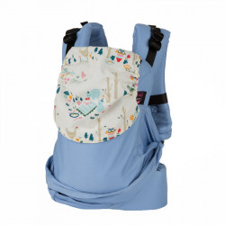 Easy Emeibaby Full Bright Blue Party - porte-bébé
