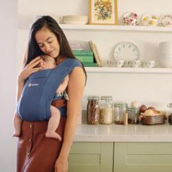 Ergobaby Embrace Soft Navy - porte-bébé