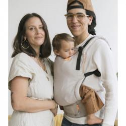 Tula Linen Free to Grow Sand - porte-bébé