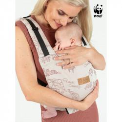 Isara Quick Full Buckle Wildlife Sandy porte-bébé