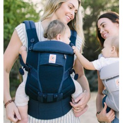 Ergobaby Adapt Carrier Cool Air Mesh Deep Blue