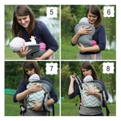 Tula Infant Insert Gris
